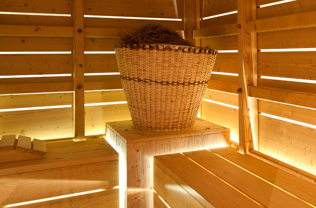 Sauna with herbs Alto Adige